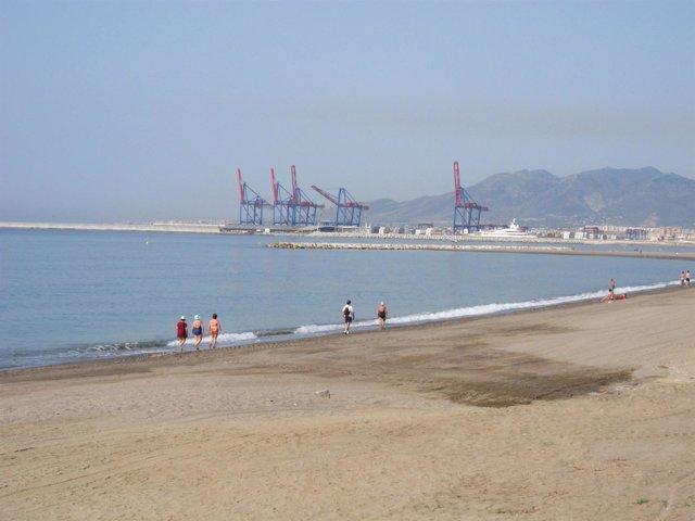Imagen De La Playa De La Malagueta
