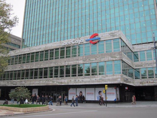 Sede central de Ibercaja en Zaragoza