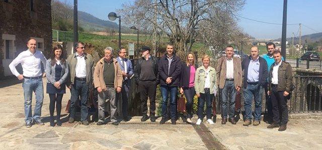 La comisión de coordinación de la Reserva del Río Eo, Oscos y Terras de Burón.