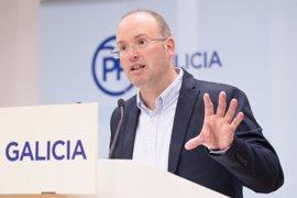 "El PPdeG valora la visita del ministro de Fomento a las obras del AVE, que ""transcurren a pleno rendimiento"""