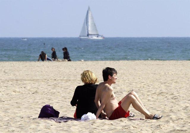 Recursos de playa, buen tiempo, sol, soleado