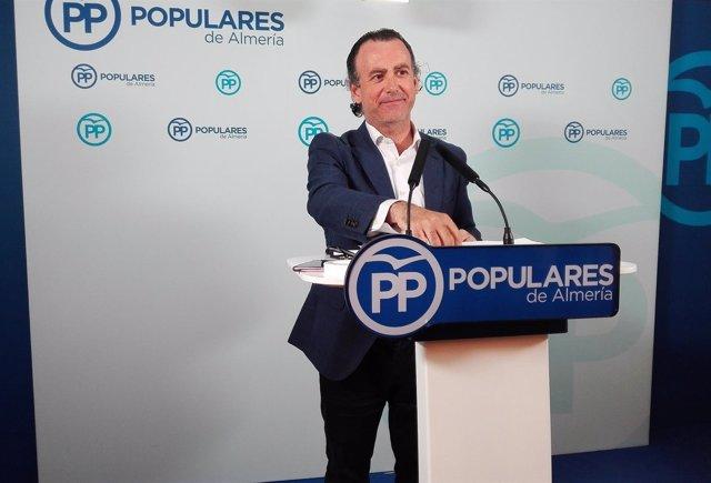 El dirigente del PP-A Pablo Venzal