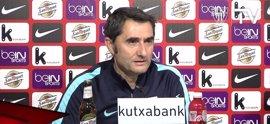 """Valverde: """"Somos un equipazo con una fuerza de voluntad inquebrantable"""""""