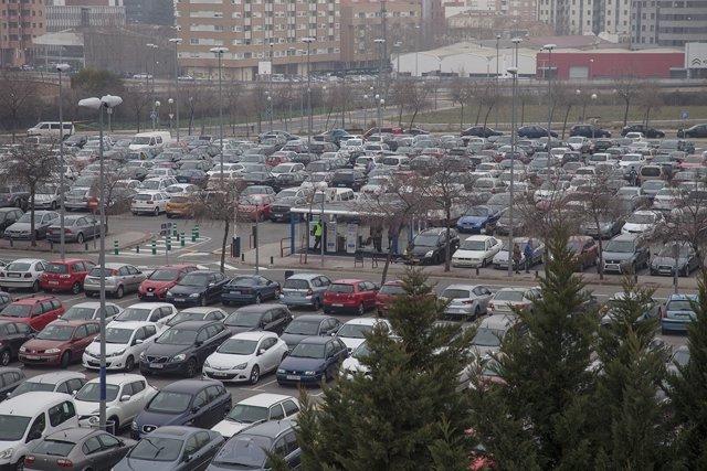 Parking Oeste del San Pedro de aparcamientos CIBIR