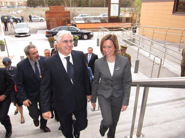 José María Barreda y Carme Chacón