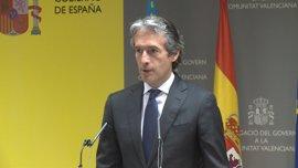 De la Serna dice que las inversiones de 2017 son suficientes para  compromisos con la CCAA valenciana y en 2018 crecerán