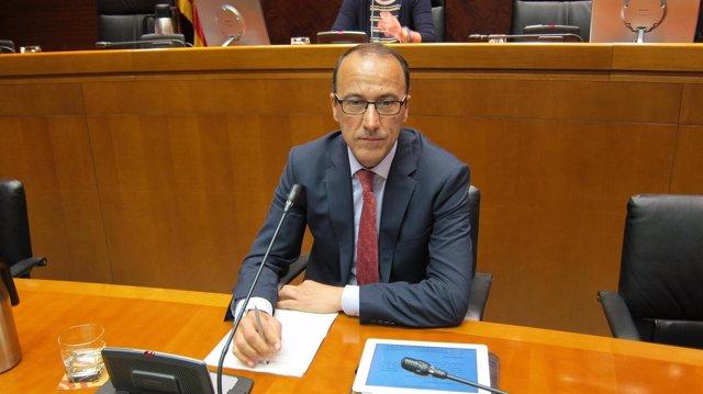 Secretario general técnico del Departamento de Educación de Aragón, Felipe Faci