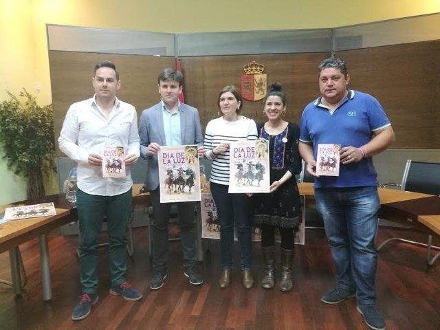 Presentación del Día de la Luz de Arroyo de la Luz (Cáceres)