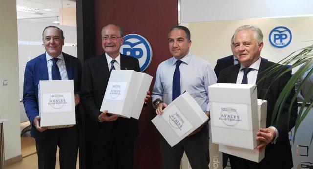 Bendodo presenta avales reelección PP Málaga 2017