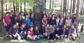 La Universidad de Lovaina visita Bizkaia para conocer la estrategia de gestión forestal sostenible de la Diputación