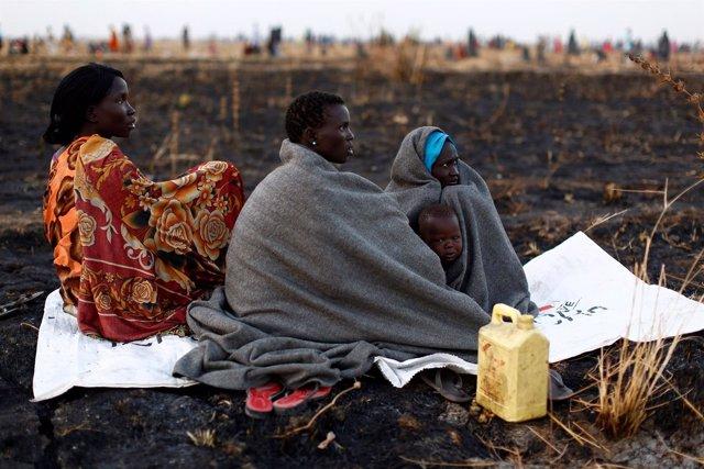 Desplazados en Sudán del Sur