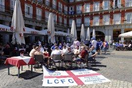 Detenidos dos hinchas del Leicester tras los incidentes de esta tarde en Plaza Mayor