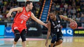 RETAbet Bilbao Basket supera al líder Valencia y mira a los 'play-offs'