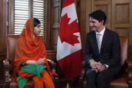 Malala Yousafzai se convierte en la sexta persona en recibir la ciudadanía honoraria de Canadá