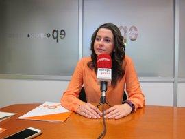 """Arrimadas cree que el proceso independentista """"cierra puertas internacionales"""" a Puigdemont"""