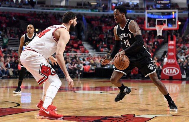 Nikola Mirotic en el Bulls - Nets