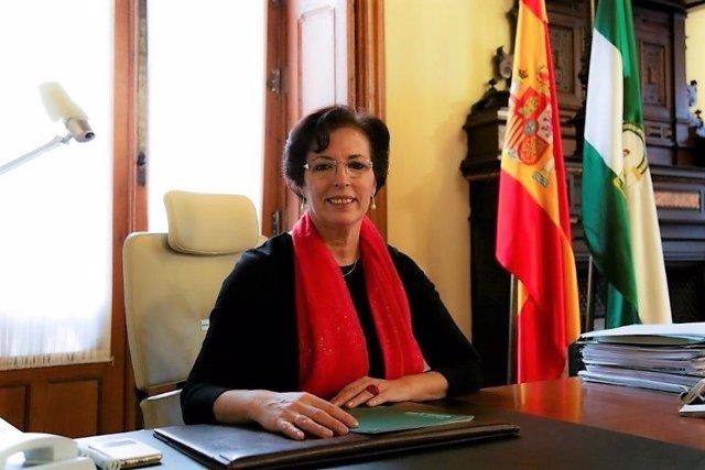 La delegada de la Junta en Almería, Gracia Fernández