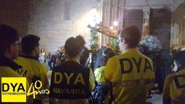 DYA Extremadura atiende durante el Miércoles Santo en Cáceres a seis personas, todas de carácter leve