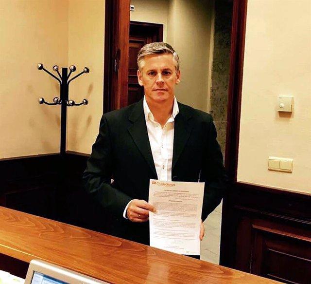 El diputado de Ciudadanos en el Congreso Javier Cano.