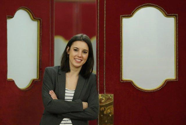 Entrevista con la portavoz parlamentaria de Podemos, Irene Montero