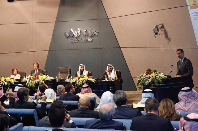 Palabras del Rey Felipe VI en el encuentro empresarial España-Arabia Saudí