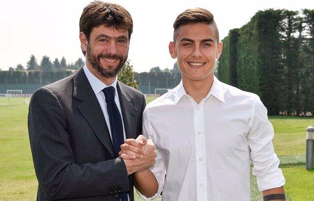 Paulo Dybala renueva con la Juventus