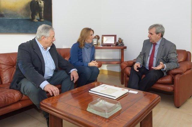 Reunión Gobierno - Asociación de la prensa