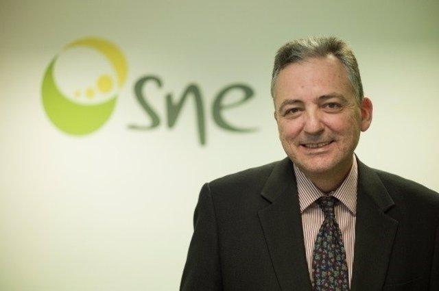 El presidente de la SNE, José Antonio Gago Bádenas