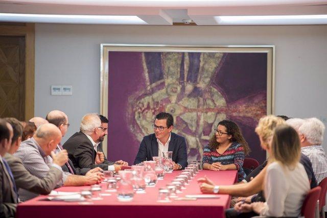 Reunión Vicepresidente- Federación de Empresas de Transportes