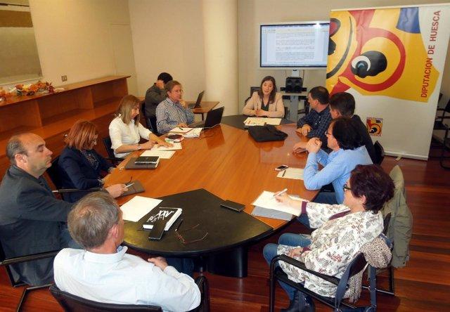 Comisión de Iniciativas y Tecnología de la Diputación de Huesca