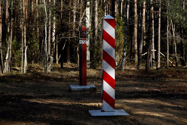 Frontera Polonia Bielorrusia