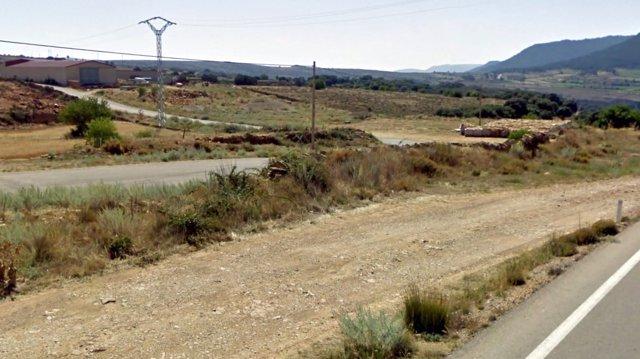 Asfaltado de caminos en La Iglesuela del Cid (Teruel)