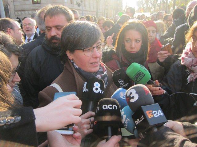 La diputada de la CUP en el Parlament Mireia Boya
