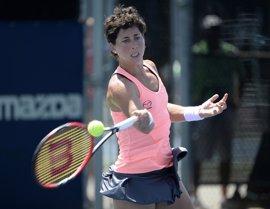 Carla Suárez no puede con Giorgi y cae en el torneo de Biel
