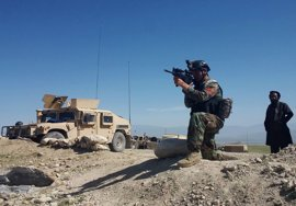 Afganistán anuncia la muerte de 36 miembros de Estado Islámico tras el lanzamiento de la bomba de EEUU