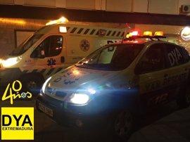Atendidas 15 personas durante el Jueves Santo en Cáceres, y tres de ellas requieren traslado a centros sanitarios