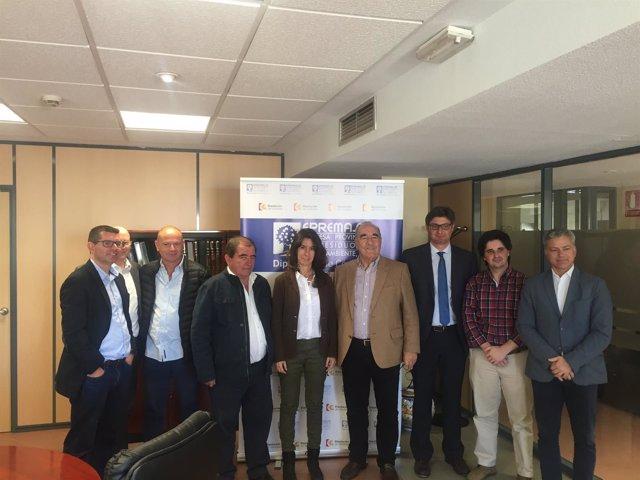 Epremasa recibe a responsables del municipio portugués de Albufeira
