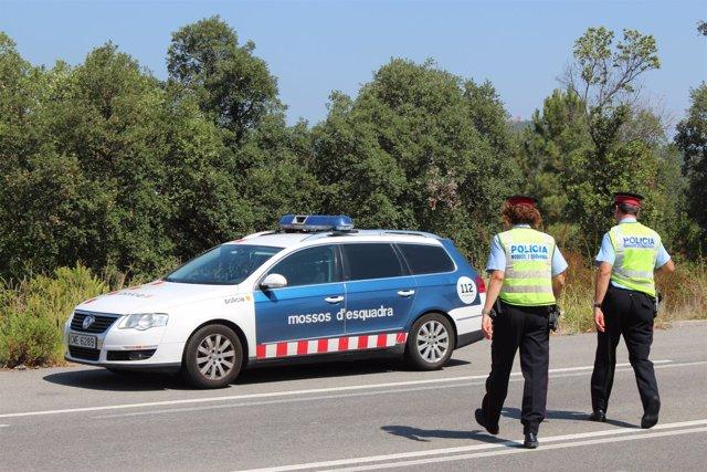 Coche patrulla de Mossos