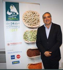 El presidente de Restauración Mallorca, Alfonso Robledo