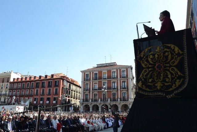 Valladolid. Calduch-Benages pronuncia el Sermón de las Siete Palabras