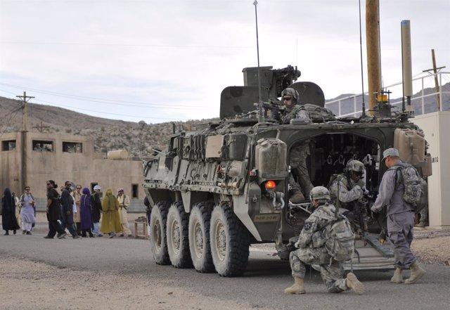 Fuerzas de Estados Unidos en Afganistán