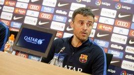 """Luis Enrique: """"La Real Sociedad no es el mejor rival para generar confianza"""""""