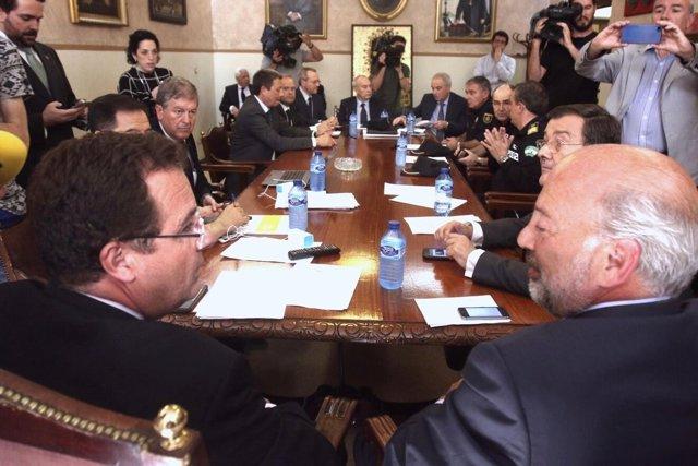 Atención a medios de Juan Carlos Cabrera y Ricardo Gil-Toresano