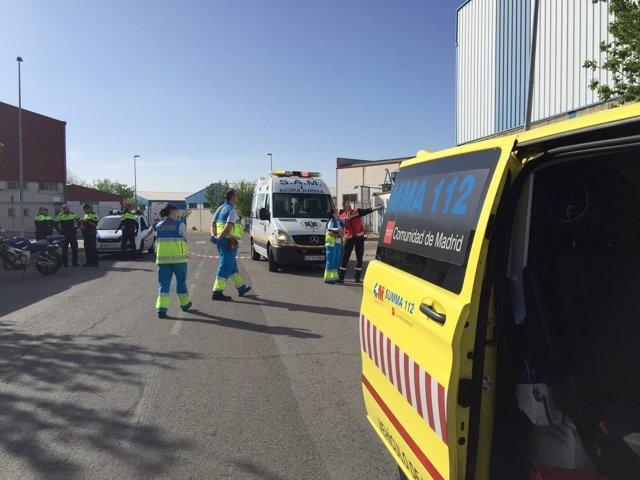 Fallece un motorista en Valdemoro (Madrid)