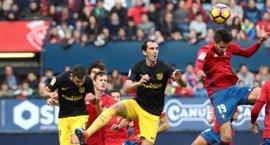 Osasuna, escollo para el Atlético antes de jugarse la 'Champions'