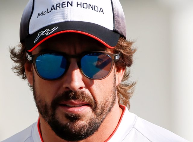 El piloto español de McLaren Fernando Alonso