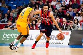 Baskonia se asegura el 'play-off' tras imponerse a Gran Canaria