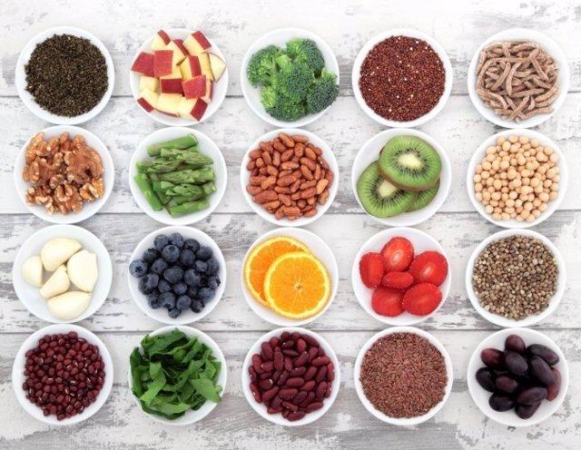 Fibra, comida, alimentación