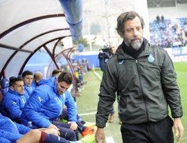 """Quique Sánchez Flores: """"Nos falta mantener como visitante los niveles que tenemos en casa"""""""