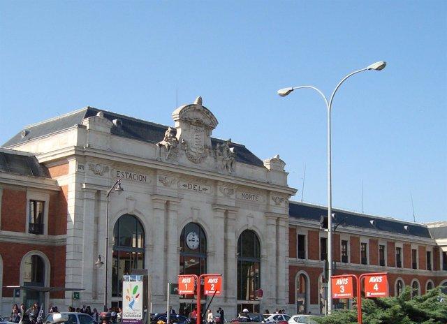 Estación Campo Grande de Valladolid.